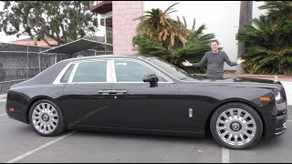 The 2018 Rolls-Royce Phantom Is a $550,000 Ultra-Luxury Car