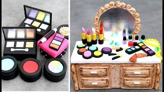 AMAZING MakeUp Mini Cakes | Pasteles de Maquillaje by Cakes StepbyStep