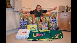 Unboxing my Likit Sponsorship Prizes!