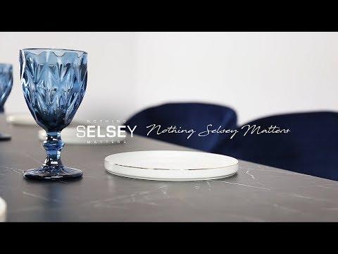 Pikendatav laud Selsey Roma, must