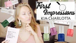 FIRST IMPRESSIONS - KIA CHARLOTTA | VEGAN | CRUELTY FREE | NAILPOLISH | Alex' Advice