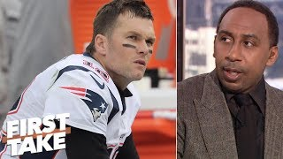 Patriots' Week 10 loss 'spells doom' for Super Bowl chances - Stephen A. | First Take