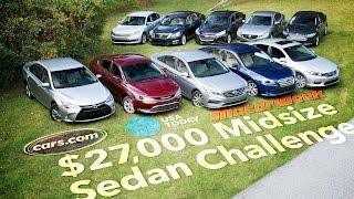 2015 $27,000 Midsize Sedan Challenge