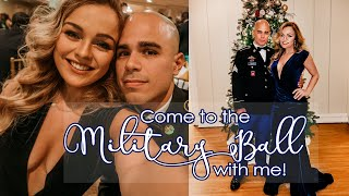 MILITARY BALL VLOG | Get Ready With Me & Come To The Ball With Us! | Diary Of An Army Wife