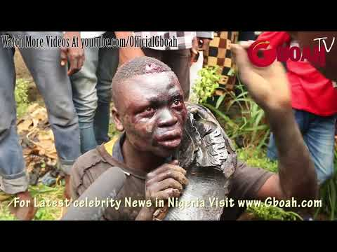Another Kidnapper-Ritualist Escape Death By Burning After He Was Caught Trying 2Kidnap Little Kids,2