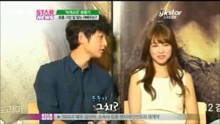 Song Joong Ki & Park Bo Young Interview 5