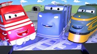 Vláčky pro děti - Vláček Troy zakládá ve Městě vlaků kino!