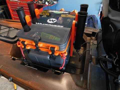 Best ever Kayak crate ?  my review of Wildrness Systems new 2017 krate