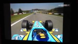 Fisichella angry at being held up by villenuve