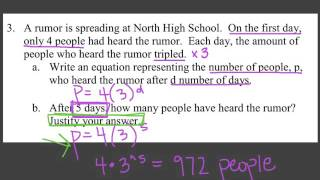 Exponential Word Problems