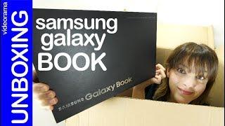 Samsung Galaxy Book unboxing -Surface tiene un enemigo-