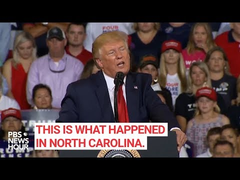 WATCH: Trump says he tried to stop the 'Send her back!' chant. Here's what happened
