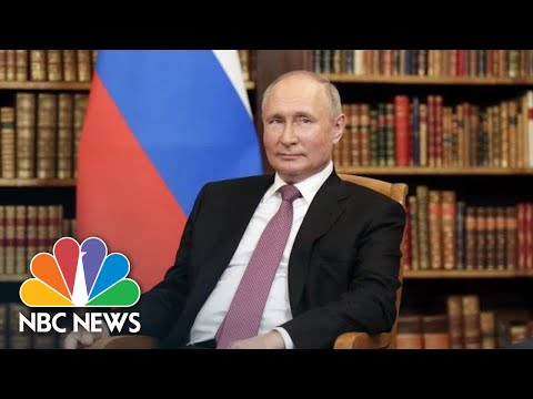 LIVE: Putin Holds Press Conference After Meeting With Biden