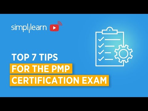 Top 7 Tips For The PMP Certification Exam | PMP Training