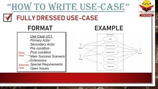 How to write Use Case
