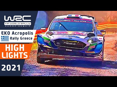 WRC 2021 ラリー・ギリシャ Day2ハイライト動画(1/2)
