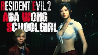 Ada The School Girl Outfit Ada and Sherry are BEST FRIENDS - Resident Evil 2 Biohazard 2 Mods