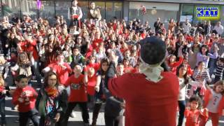 preview picture of video 'FlashMob per TV3 Canet de Mar.wmv'