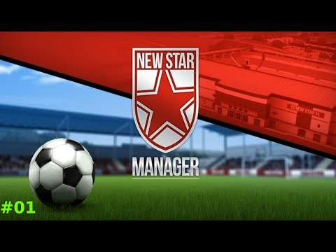 Let´s Play: New Star Manager Folge #1 - Wildstar FC wird gegründet