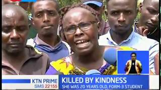 Girl drowns after an act of kindness of saving a villager in Kandisi river, Rongai