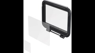 Gopro Hero 7 Black back screen Shield install and overview