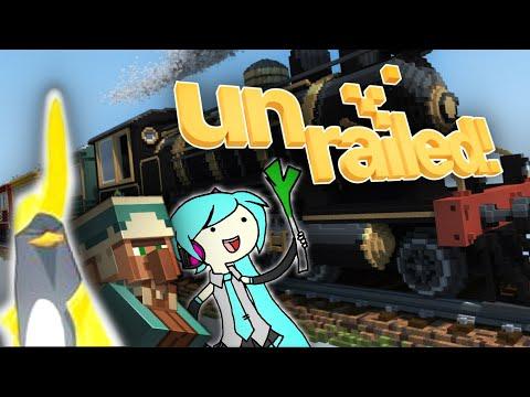 TCHOU-TCHOU !! C'EST LE TRAIN POUR DLARPOU !!! -Unrailed- [DECOUVERTE] Elyse, Jehal & Bob