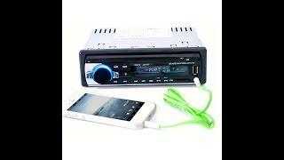 Tape Audio Mobil Bluetooth USB MP3 FM Radio JSD-520 Multifungsi
