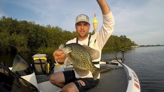 How to Tie a slip BOBBER for Crappie! EASY!