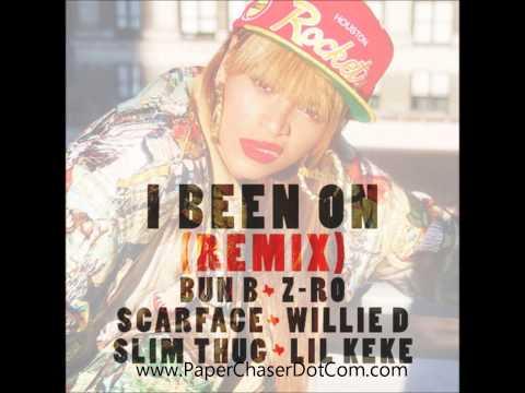 Beyonce Ft. Scarface, Bun B, Z-Ro, Lil Keke, Slim Thug - I Been On (Remix) 2013 New CDQ Dirty