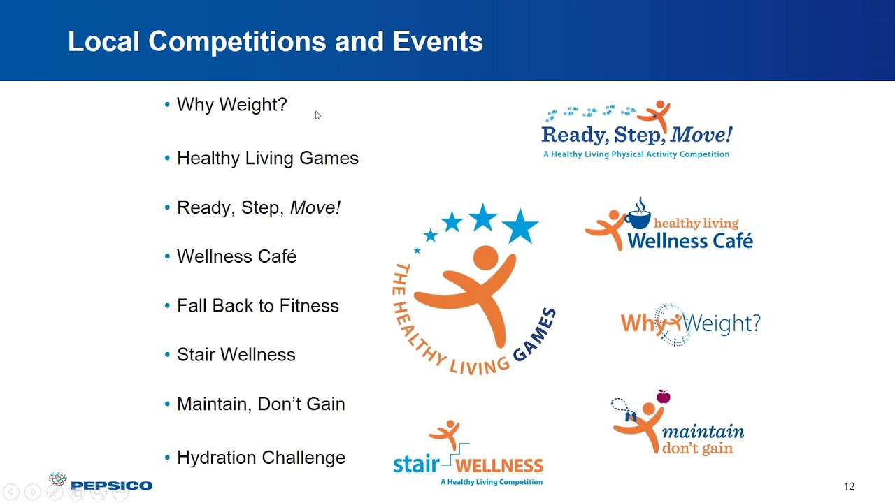 CGF Health & Wellness Learning Series Webinar – Healthy Living at PepsiCo