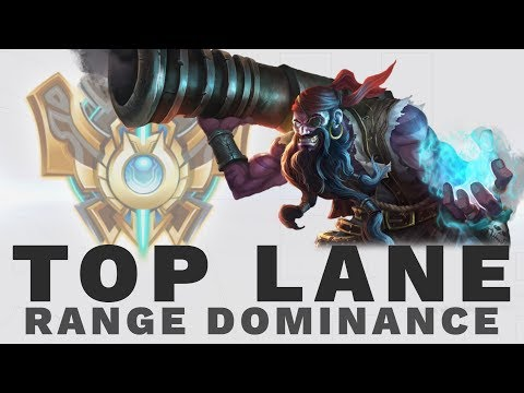 CHALLENGER in GOLD: What Top Lane Range Counters Should Look Like