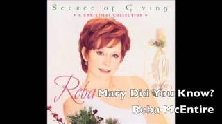 Mary Did You Know? - Reba McEntire