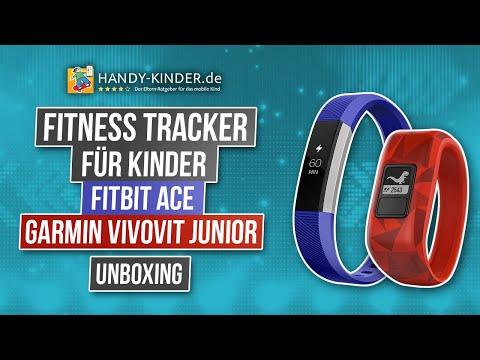 Fitness Tracker für Kinder 2019 - Fitbit Ace, Garmin Vivovit junior und Co. - Vergleich und unboxing