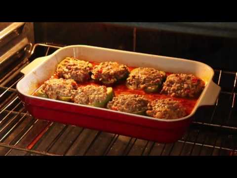 Food Wishes Recipes – Beef and Rice Stuffed Peppers Recipe – Stuffed Bell Peppers