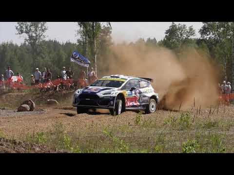 Rallye d'Estonie 2021, avec Adrien Fourmaux et Renaud Jamoul