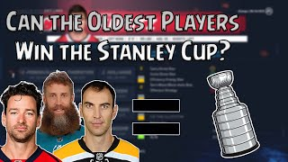 Can the Oldest Players in the NHL Win the Stanley Cup - NHL 20 Simulation