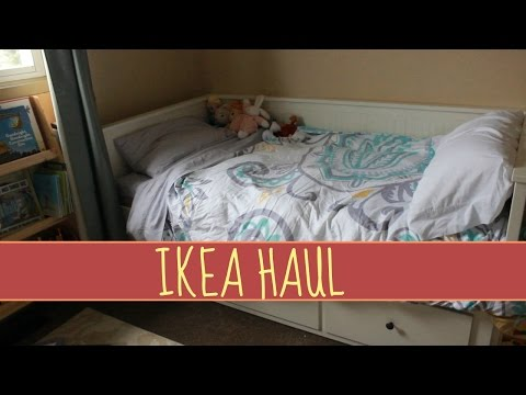HUGE IKEA HAUL! | TODDLER GIRLS ROOM & STORAGE
