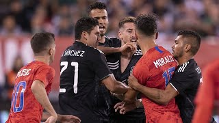 USA (USMNT) vs. Mexico (El Tri) - CONCACAF Giants (Fights and Fouls)