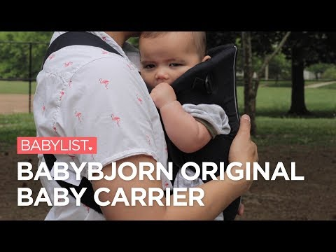 BabyBjorn Original Baby Carrier Review