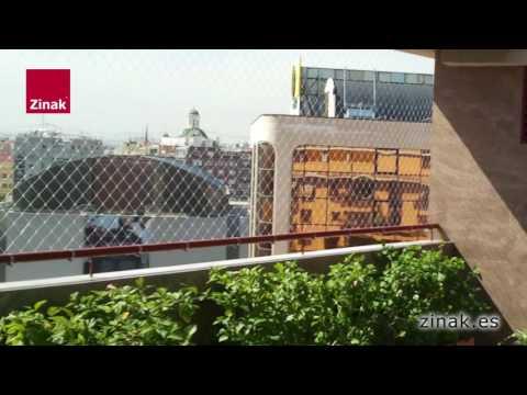 Zinak   Redes de Protección para balcones, terrazas y ventanas