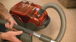 Hoover Sensory Dustmanager Bagless Cylinder Vacuum Cleaner Unboxing