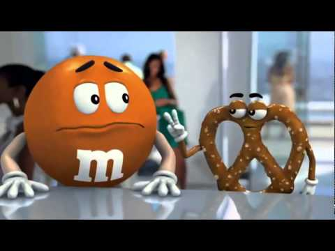 Commercial for Pretzel M&M's (2011) (Television Commercial)