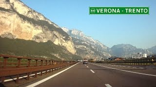 """A22 Verona - Trento """"del Brennero"""" / Italy"""