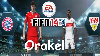 preview picture of video 'Let´s Play FIFA 14 Orakel - FC Bayern München vs. VfB Stuttgart Bundesliga [PS4] feat. Basti'