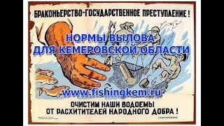 Закон о рыбалке в кемеровской области