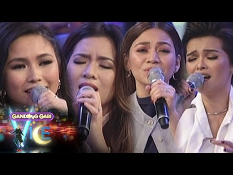 GGV: KZ, Kyla, Yeng & Angeline sing their favorite songs