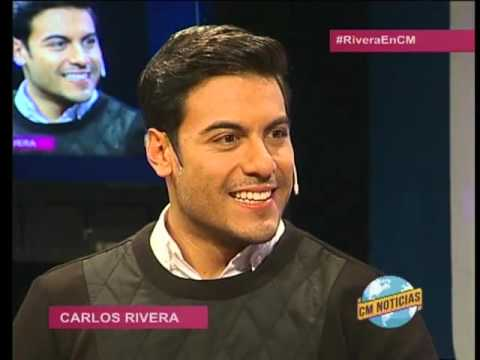 Carlos Rivera video Entrevista + Canciones - Estudio CM 2016