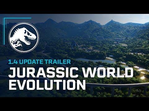 Jurassic World Evolution 1.4 Update Trailer thumbnail