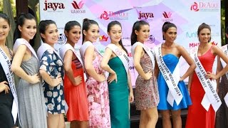 Miss Malaysia World 2014 Finalists in Swimwear