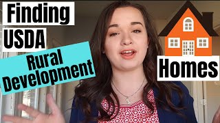 How To Find USDA Rural Development Qualifying Homes For Sale